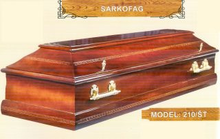 Sarkofag model 210 st