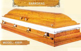 Sarkofag model 450 h